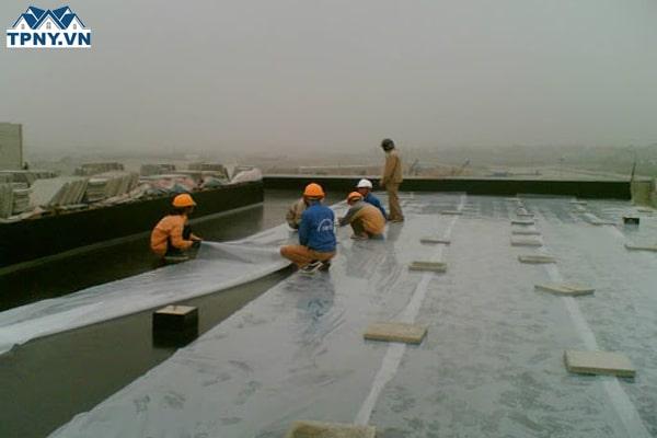 Chống thấm mái nhà ở tại TPHCM