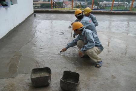 Chống thấm sân thượng tại TPHCM