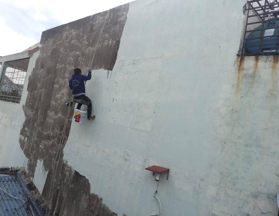 Chống Thấm Tường Nhà Tại TPHCM