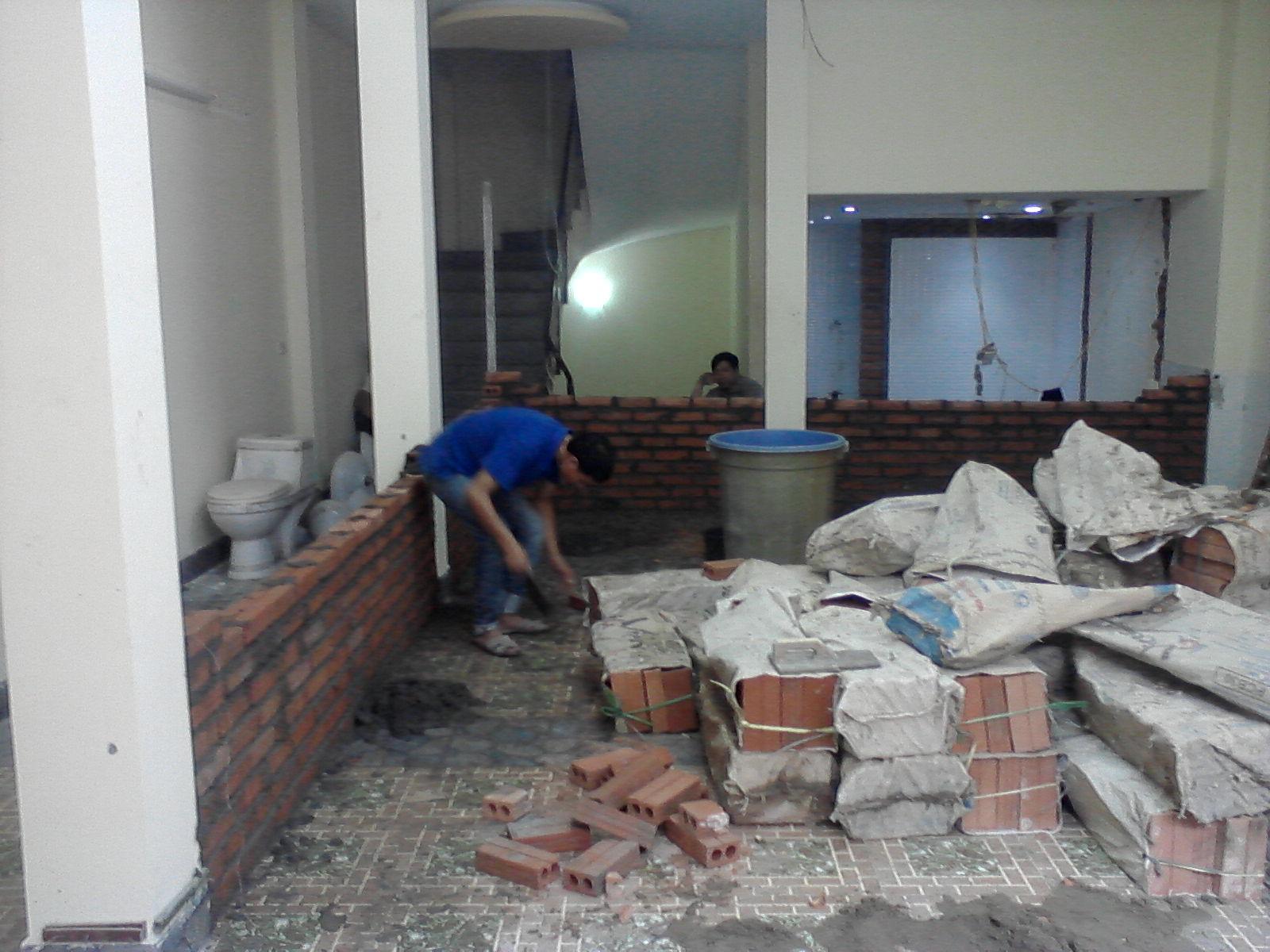 Dịch vụ sửa chữa nhà ở tại quận Gò vấp