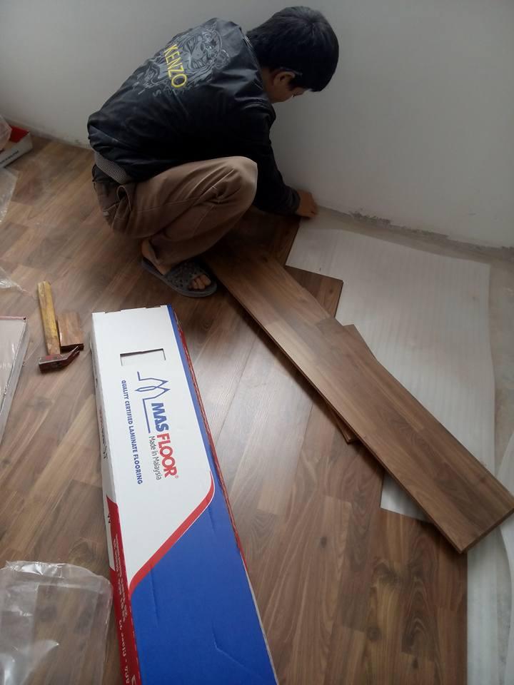 chuyên nhận thi công sàn gỗ