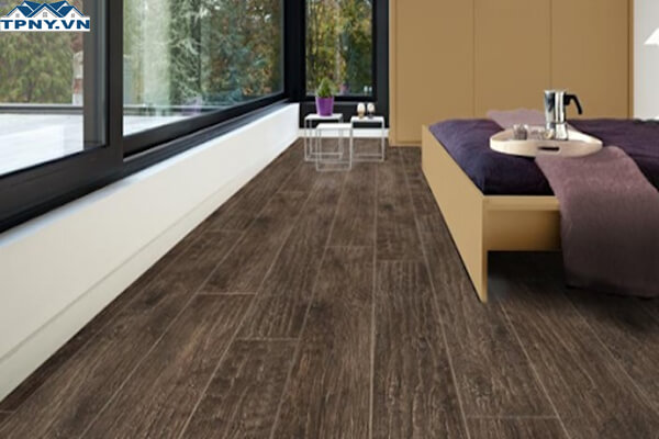 Sàn gỗ tự nhiên sang trọng