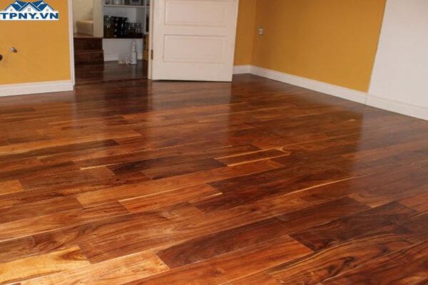 Sàn gỗ tự nhiên Tràm Bông Vàng