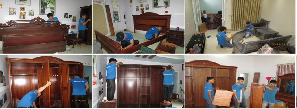 Dịch vụ tháo lắp tủ gỗ tại TPHCM