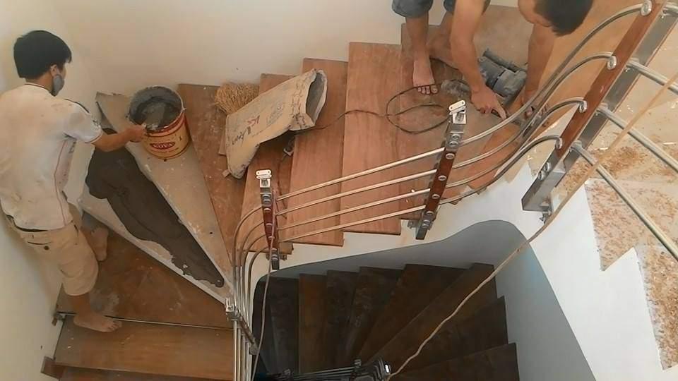Sửa cầu thang gỗ tại TPHCM