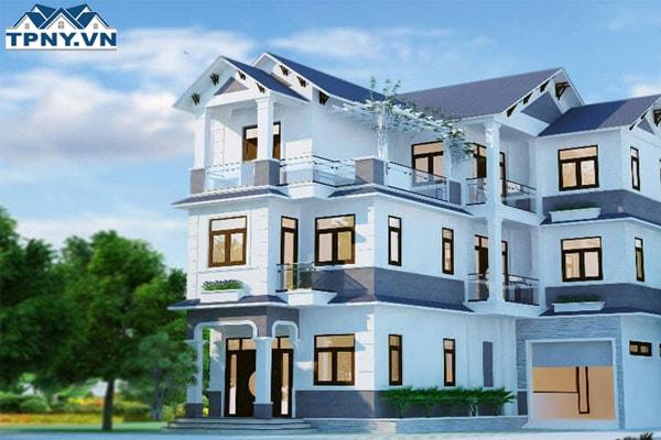 Tại sao nên sơn lại nhà màu xanh trước khi bán nhà