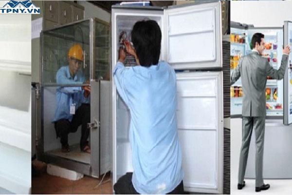TPNY chuyên nhận sửa chữa tủ lạnh giá rẻ