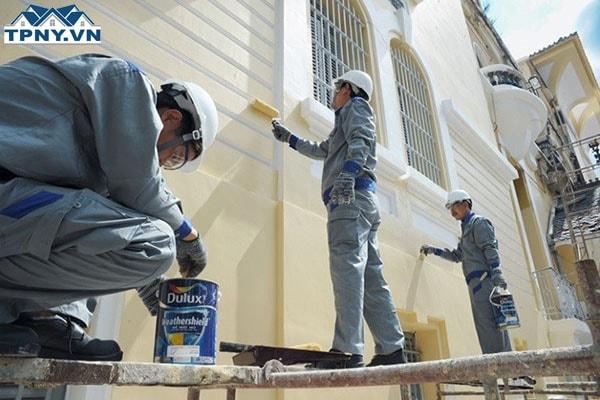 Báo giá sơn tường