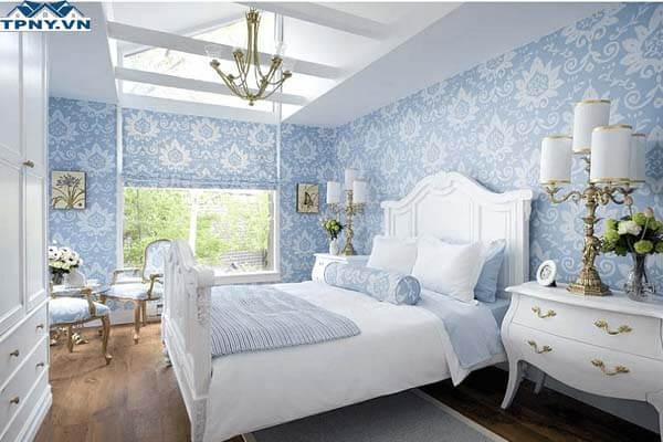 Giấy dán tường đẹp dành cho phòng ngủ độc đáo