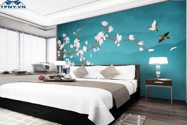 Giấy dán tường đẹp dành cho phòng ngủ