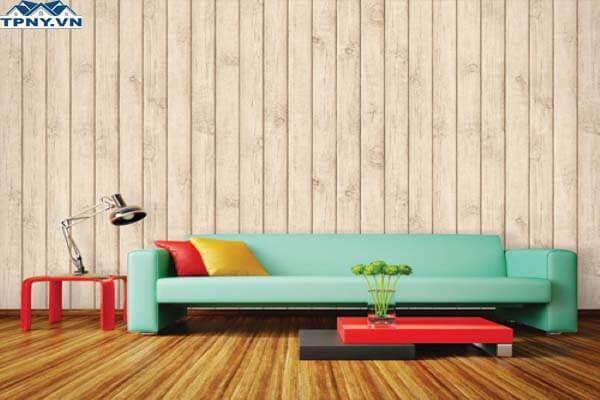 Giấy dán tường giả gỗ đẹp