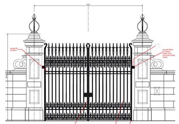 Làm cửa cổng