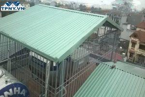Làm mái tôn sân thượng có phải xin phép không?