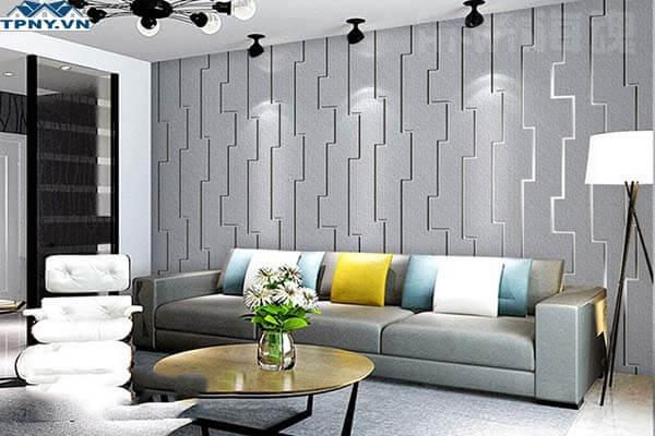 Mẫu giấy dán tường dành cho phòng khách
