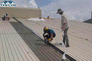Thay tôn mái nhà