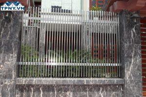 Thi công làm hàng rào sắt, Inox