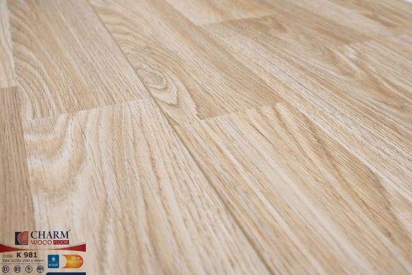 Sàn gỗ công nghiệp Charm Wood K981