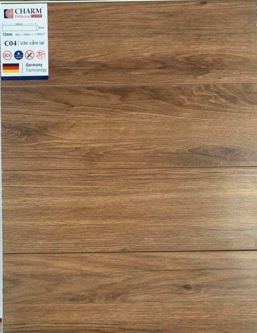 Sàn gỗ công nghiệp Charm Wood C04