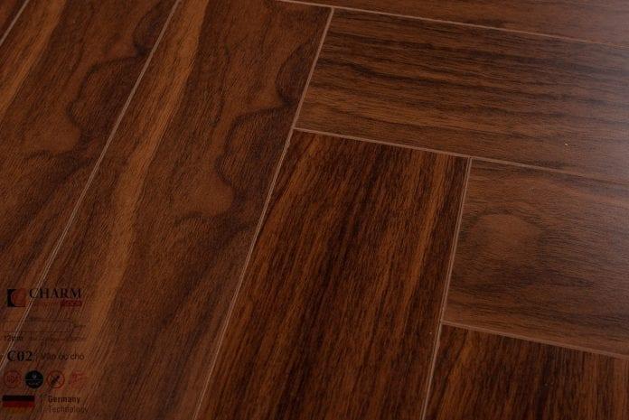 Sàn gỗ công nghiệp Charm Wood C02