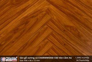 Sàn gỗ công nghiệp Charm Wood C03