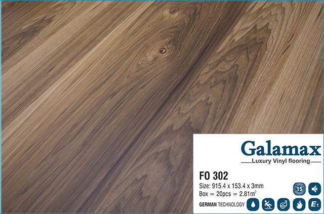 Sàn nhựa Galamax F0 302