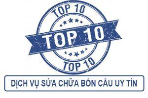 Top 10 dịch vụ sửa chữa bồn cầu uy tín