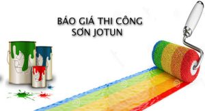 Báo giá thi công sơn Jotun