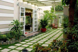 Mẫu thiết kế sân vườn đẹp
