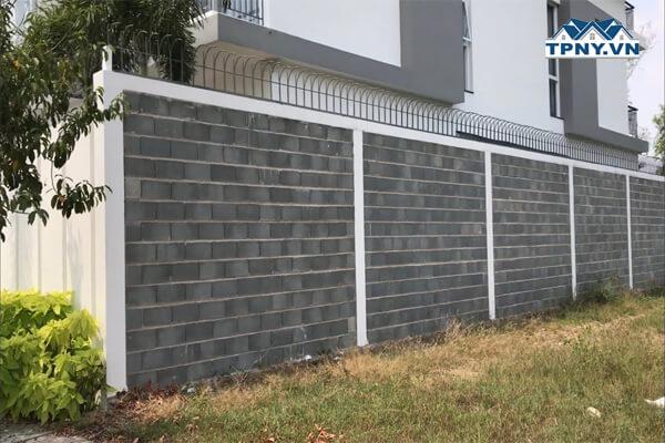 Mẫu tường rào đẹp