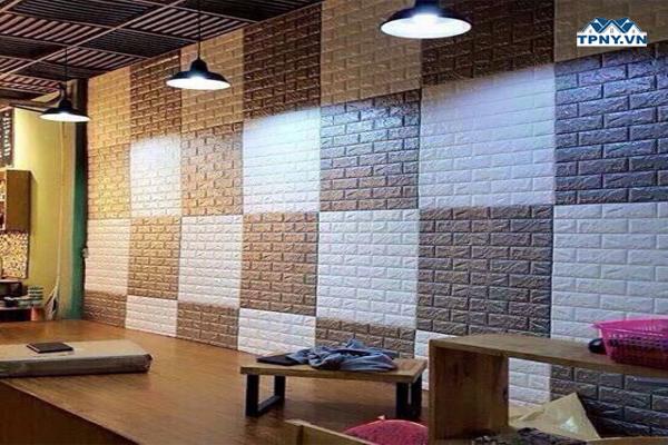 Mẫu xốp dán tường đẹp nhất hiện nay