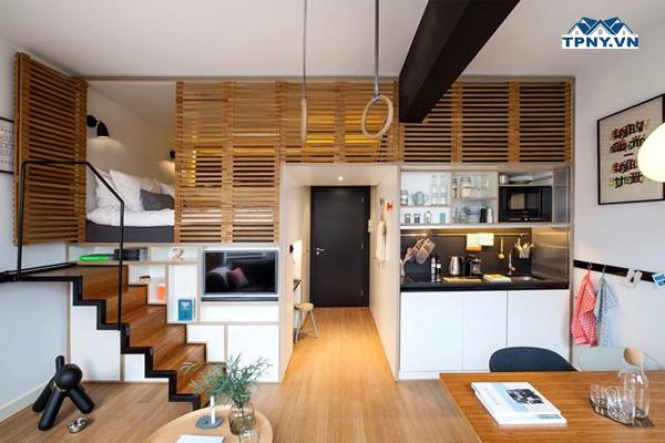 Áp dụng triệt để mọi không gian để bổ sung chức năng cho ngôi nhà