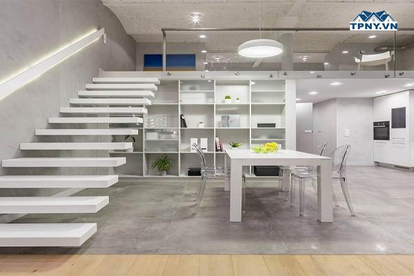 Thiết kế tầng lửng tinh tế, hiện đại