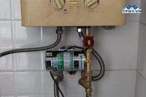 Lắp đặt bơm tăng áp bình nóng lạnh tại HCM