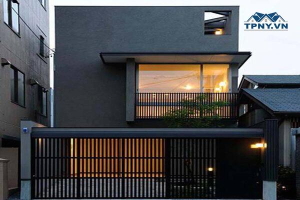 Mẫu nhà 2 tầng, 1 tầng đẹp 2021