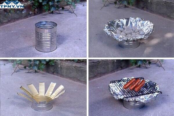 Bếp dã ngoại tiện lợi từ xu hướng DIY