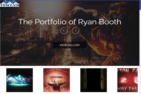 Mẫu portfolio tuyệt vời