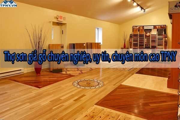 Thợ sơn giả gỗ chuyên nghiệp, uy tín, chuyên môn cao TPNY