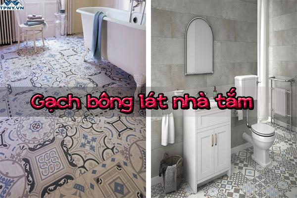Gạch bông lát phòng tắm